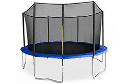 JumpSport SkyBounce Trampoline with Safety Enclosure — Inc