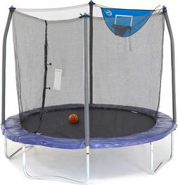 Skywalker Trampolines 8-Foot Jump N' Dunk Trampoline with