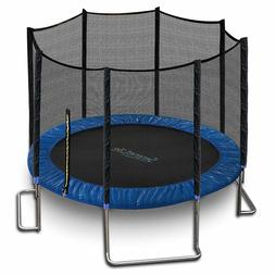 SereneLife SLTRA10BL Stable and Strong Reinforced Trampoline