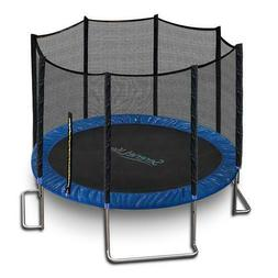 SereneLife SLTRA8BL Stable and Strong Reinforced Trampoline