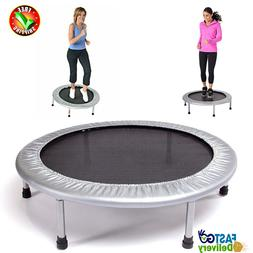 Small Exercise Round Bounce Trampoline Fitness Mini Indoor F