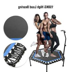 Sports Gym Hexagonal Trampoline Jump Fitness Indoor Exercise