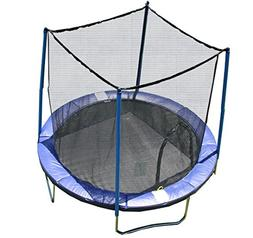 Airzone 8' Spring Trampoline with Safety Enclosure - Blue