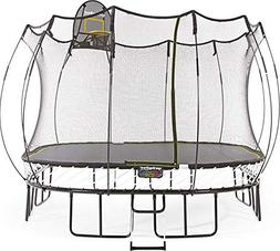 Springfree Trampoline - 11ft Large Square Trampoline With Ba