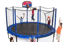 JumpSport 14' StagedBounce Basketball Trampoline Package | I