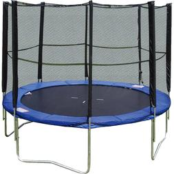 Super Jumper 10-Foot Trampoline, with Safety Enclosure Net,