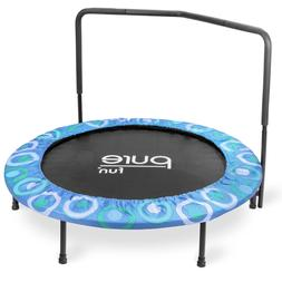 Pure Fun 9008SJ Super Jumper Kids Trampoline with Handrail,