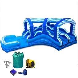 tall marble wave inflatable water