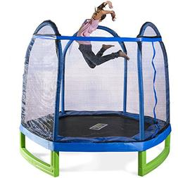 TAX FREE Bounce Pro 7' My First Trampoline Hexagon  for Kids