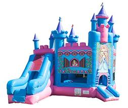 TentandTable Princess Castle Bounce House Inflatable Combo S