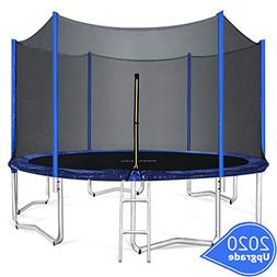 ORCC 15FT 12FT Kids Trampoline, TÜV Certificated Yard Tramp