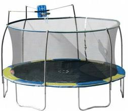 Trampoline Bounce Pro 14-Foot with Slama Jama Outdoor Recrea