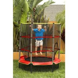 "Airzone 55"" Trampoline, Red, Includes Rail Padding And More"