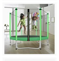 Fashionsport OUTFITTERS Trampoline with Safety Enclosure -In