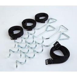 JUMPKING Trampoline Anchor Kit Hardware Accessory Replacemen