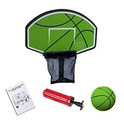 Exacme Trampoline Basketball Hoop | Ball Included | Easy Ins