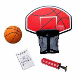 Exacme Trampoline Game Basketball Hoop for Straight Net Pole