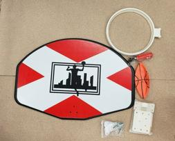 Trampoline Basketball Hoop, With Hardware And Ball