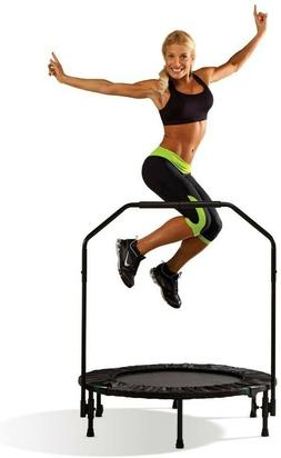 Marcy Trampoline Cardio Trainer with Handle ASG-40-Black, co