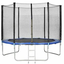Giantex Trampoline Combo Bounce Jump Safety Enclosure Net W/