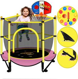 Trampoline For Kids Baby Toddler Small Indoor Recreational T