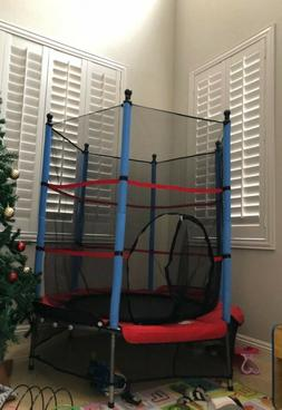Trampoline For Kids With Enclosure Durable Mini Toddlers Hom