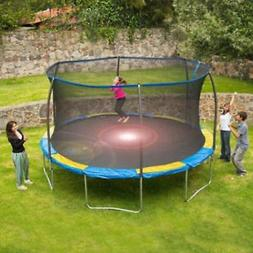 Trampoline with Flash Light Zone and Enclosure Bounce Pro 12