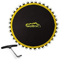 """14ft Premium Trampoline Mat with 104 V-Rings FITS 8.5"""" Sprin"""