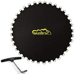 "SkyBound 139"" Trampoline Mat w/ 80 V-Rings"