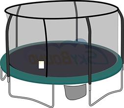 15' Trampoline Enclosure Net for 5 Pole / Top Ring G3 / G4 P