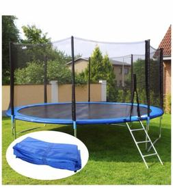 Trampoline Outer Ring Pad Ancheer 10FT Round Trampoline  Blu
