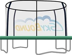 SkyBound 12 foot Trampoline Pad with 8 Enclosure Pole Cut-Ou