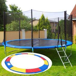 10/12/14/15 FT Trampoline Safety Pad Round Frame Pad Cover R