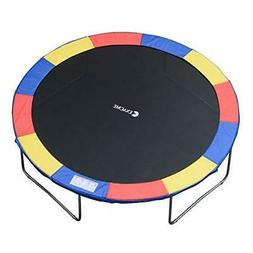 Trampoline Replacement Safety Spring Cover Pad Without Holes