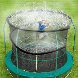 Trampoline Spray Water Park Fun Summer Water Game Toys Tramp