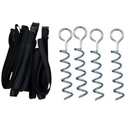 JUMP POWER Trampoline Stakes Anchors - Strong and Galvanized