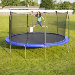 Trampoline with Enclosure Outdoor Recreational Sports Skywal