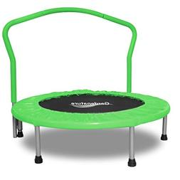 Gardenature Trampoline-36 Portable Trampoline for Kids-Green
