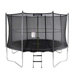 Lejump Trampolines 10ft with Safety Pad & Enclosure & Net &