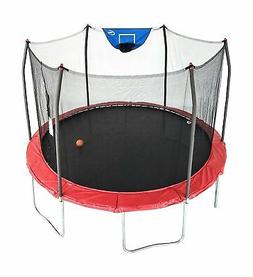 Skywalker Trampolines Jump N Dunk Trampoline with Safety Enc