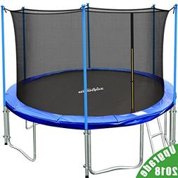 Zupapa TUV Approved 15ft 14ft 12ft 10ft Round Inside-net Tra