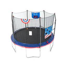 USA Style Propel Trampolines Dunk Basketball Hoop Safety Sof