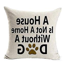 GOVOW Valentines Day Decorations Throw Pillow Case Sweet Lov