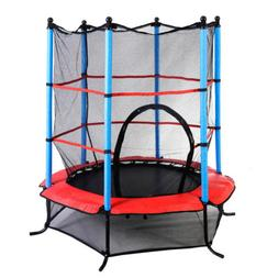 "Youth Jumping Round Trampoline 55"" Exercise W/ Safety Pad"