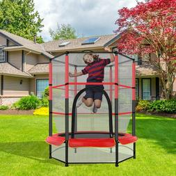 Out/Indoor Jumping Youth Kid Toy Trampoline Exercise Safety
