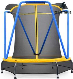 Zupapa 54 Inch 66Inch Indoor Small Trampoline For Kids Child
